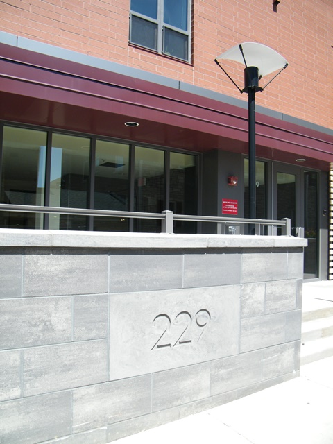 Signage of 229 At Lakelawn Apartments Building Exterior